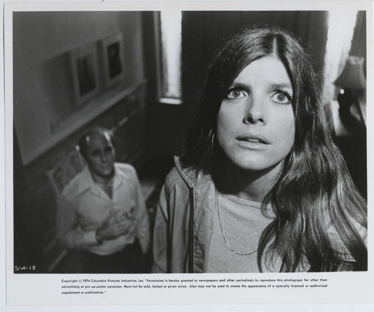 """Houston native Peter Masterson, left, and Katharine Ross played Joanna and Walter Eberhart in the original """"Stepford Wives."""""""