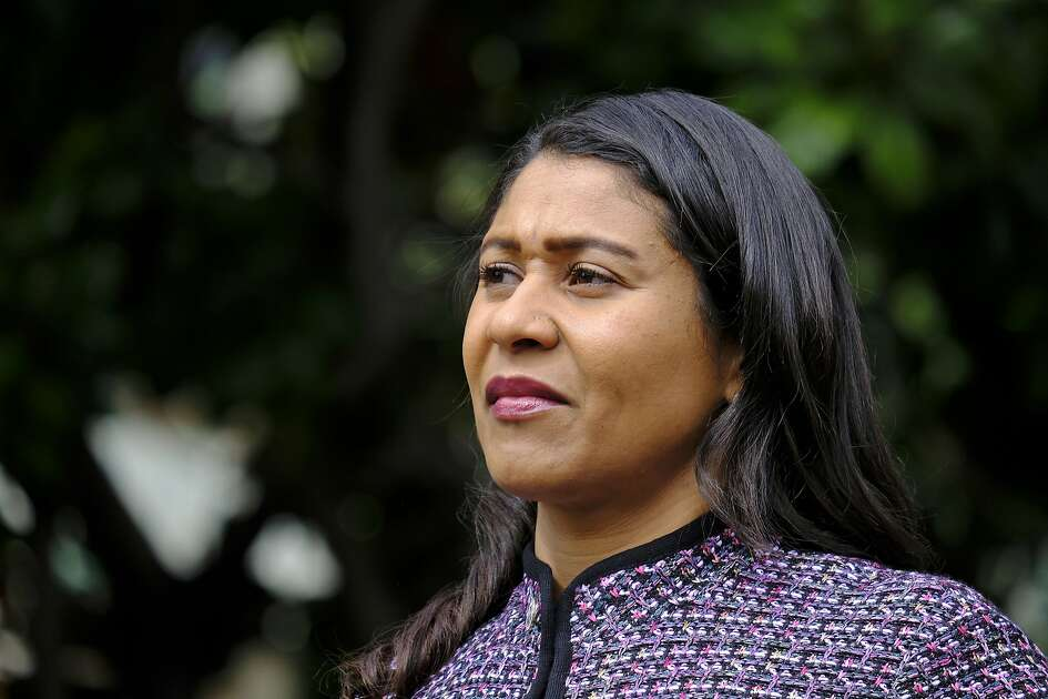 "FILE - In this Oct. 2, 2018, file photo, San Francisco Mayor London Breed listens during a news conference in San Francisco. Breed has requested an early release from prison for an older brother who has served nearly two decades of a 44-year sentence for a manslaughter conviction. The San Francisco Chronicle reported Wednesday, Dec. 19, 2018, that Breed sent a letter to outgoing Gov. Jerry Brown in late October asking him to ""consider leniency"" and commute her brother's sentence. (AP Photo/Eric Risberg, File)"