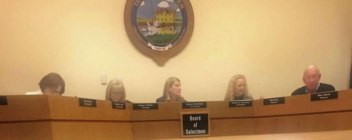 The Board of Selectmen. Taken Dec. 17.