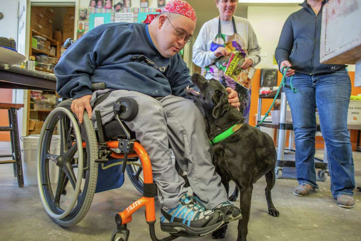 The Brookwood Community proudly welcomed a new therapy dog named Demi to campus.