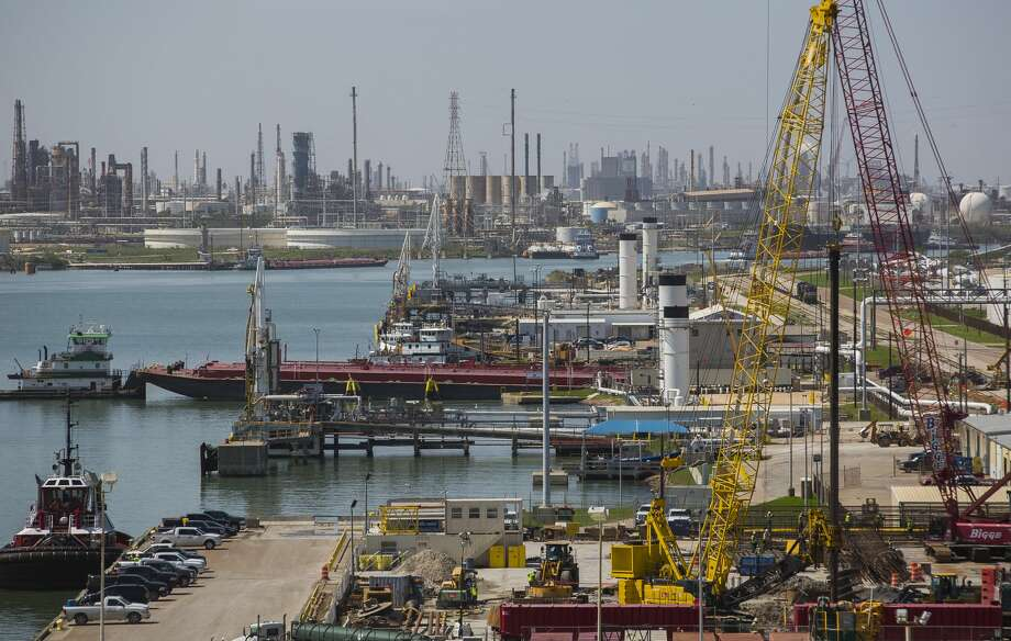 After the ban on exporting U.S. crude was lifted at the end of 2015, the Port of Corpus Christi built itself into one of the top facilities sending crude from West Texas to other parts of the world.As the coronavirus pandemic has shuttered economies worldwide and erased about 30 percent from the world's oil demand, port officials pondered what's next. They hosted a virtual even -- dubbed Texas Energy Day – on Wednesday to discuss how to manage the importance of energy in America during the COVID-19 crisis. Photo: Mark Mulligan/Houston Chronicle