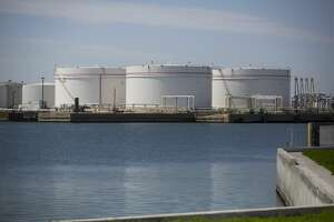 Export facilities along the Texas Gulf Coast, like these storage tanks at the Port of Corpus Christi, could be overwhelmed as new pipelines come online in late 2019 and into 2021 and send crude from the Permian Basin and Eagle Ford gushing to the export market.