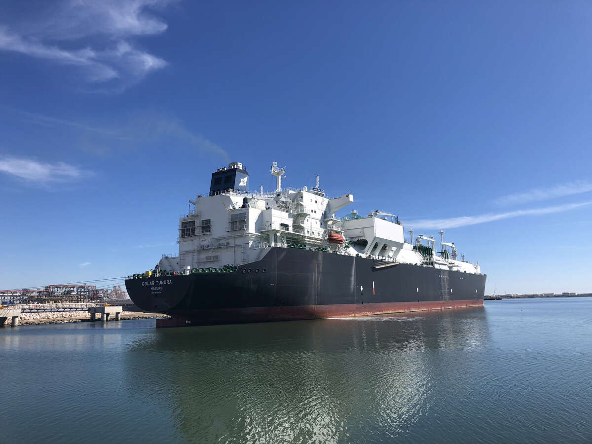 Federal officials have given Houston liquefied natural gas company Cheniere Energy permission to put its first production unit at Corpus Christi LNG into commercial service and begin exports.