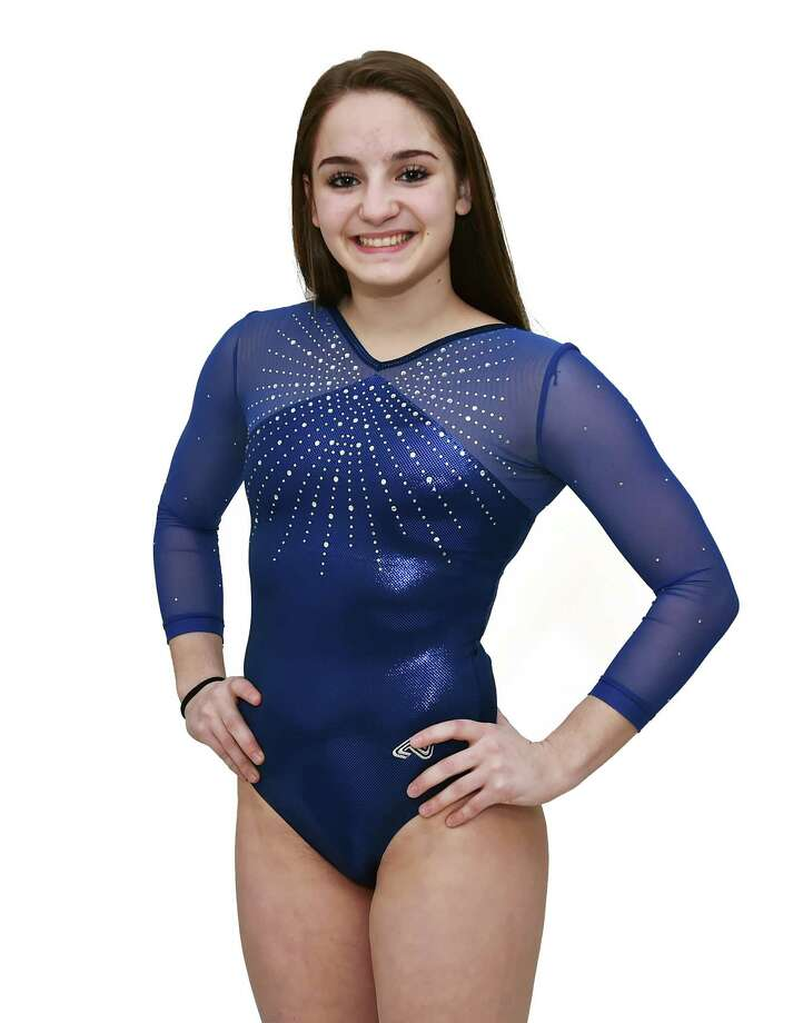 Emily Baktis - Oxford High School All-Area Gymnastics Thursday, March 23, 2017 (Catherine Avalone/New Haven Register) Photo: Catherine Avalone / Catherine Avalone/New Haven Register / Catherine Avalone/New Haven Register
