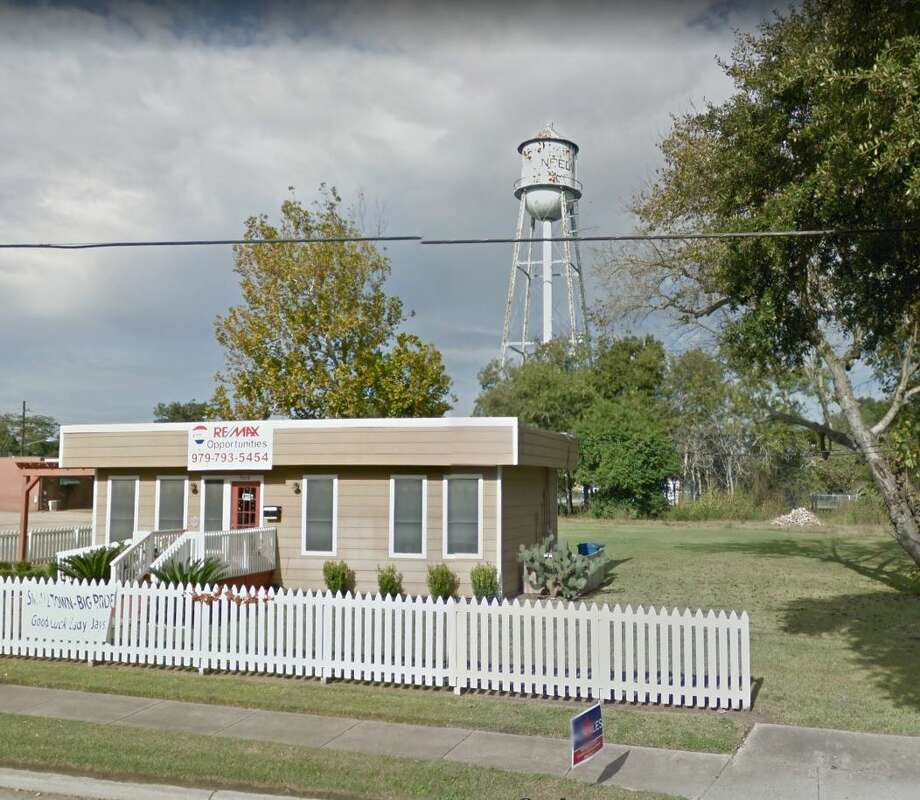 In a narrow 3-2 vote, the Needville City Council voted on Nov. 14 to hire Rex Mechanical, a local air conditioning contractor, to demolish the tower. Photo: Google Maps