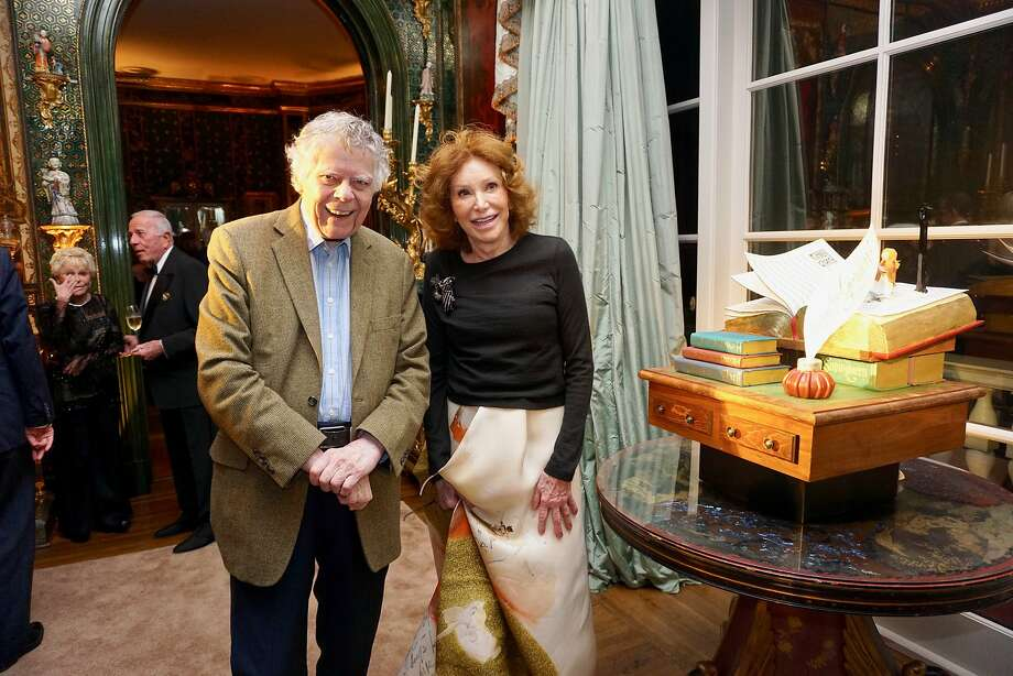 Ann Getty hosted an 85th birthday soiree in honor of her husband, philanthropist-composer, Gordon Getty, and their granddaughter, Ivy Getty who shares her grandfather's Dec. 20 natal day. Dec. 16, 2018. Photo: Catherine Bigelow / Special To The Chronicle