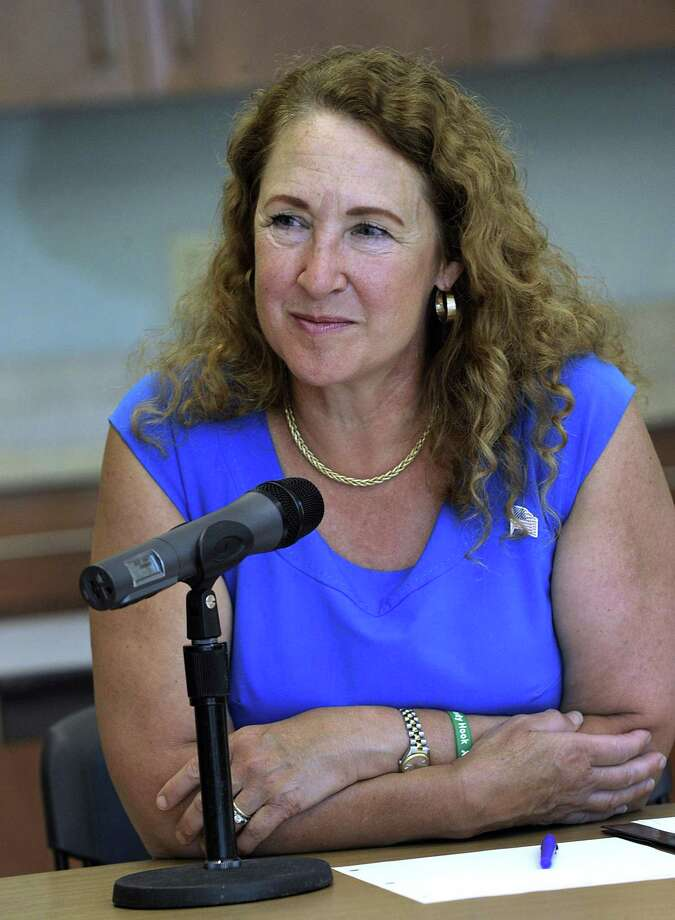 Esty Photo: Carol Kaliff / Hearst Connecticut Media / The News-Times