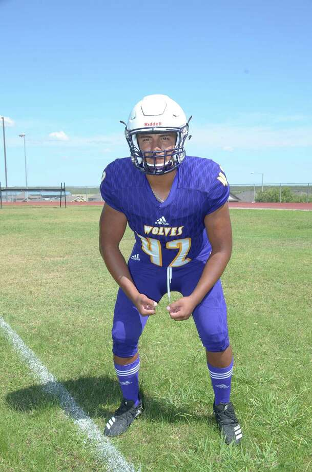 LBJ's Cristian Ramos was named honorable mention all-state after recording a team-high 85 tackles. Photo: Cuate Santos / Laredo Morning Times File