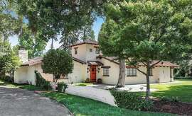 3 Fredrick Court in Menlo Park is a California Mission style three-bedroom set on .83 acres.