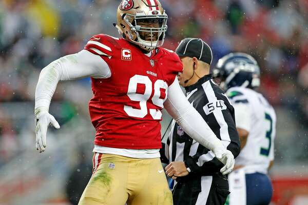 Dee Ford and DeForest: 49ers excited about potential of pass-rush pairing