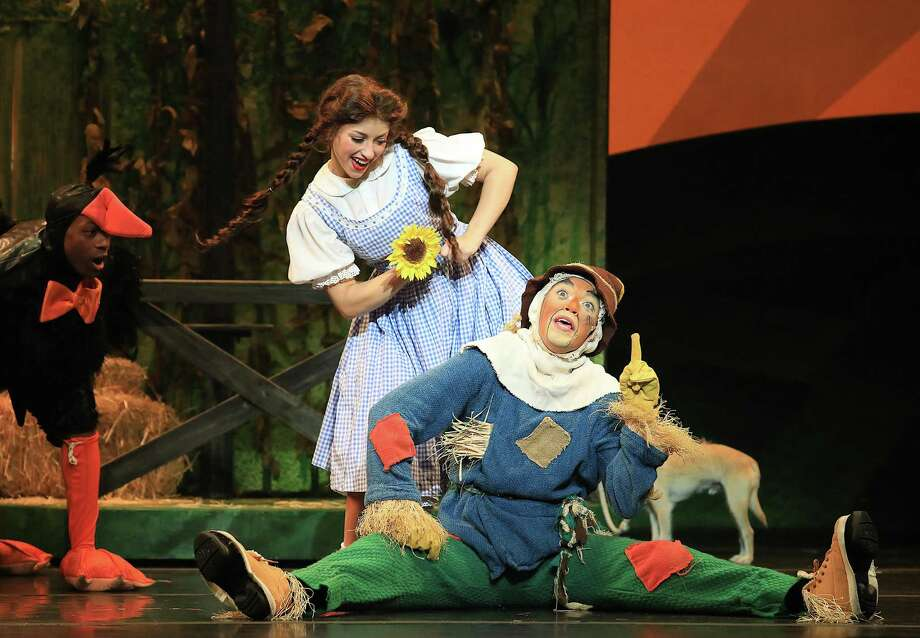 Kalie Kaimann and Jack Saleeby in a scene from the classic story. Photo: Courtesy Of Shubert Theatre