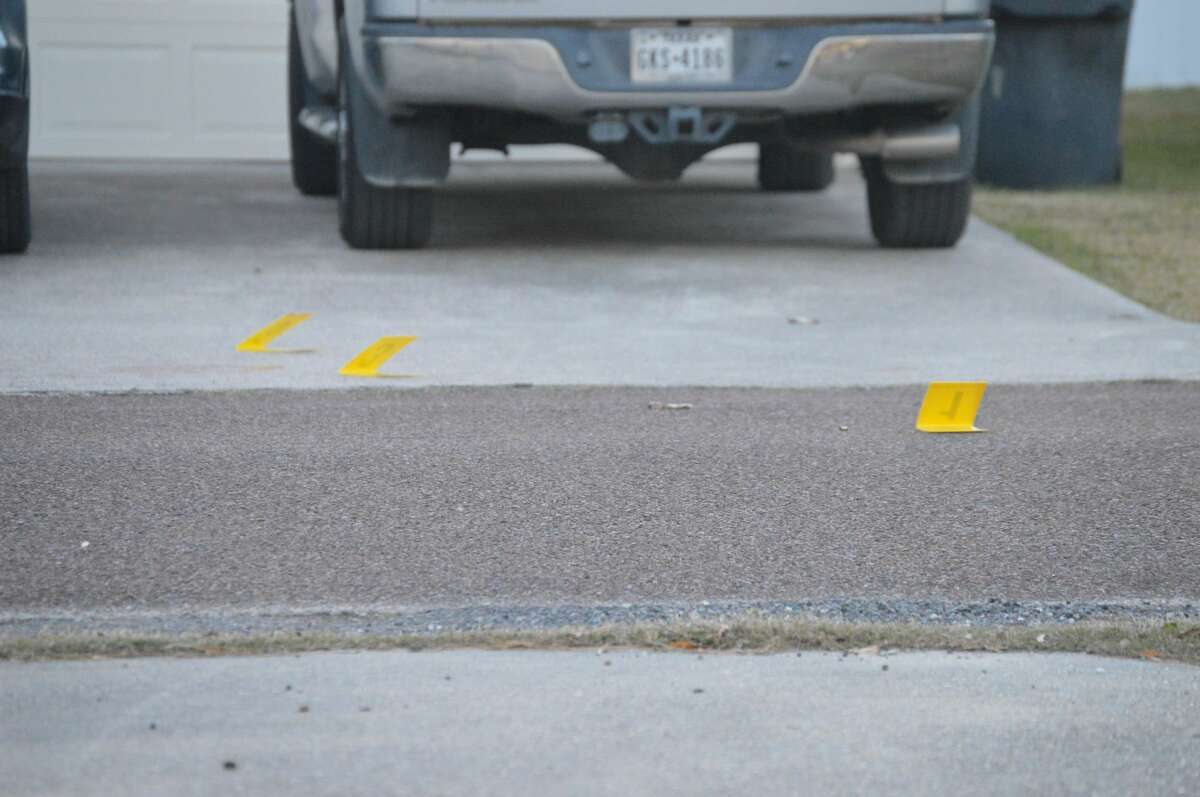 A Nederland woman was shot early Friday morning.