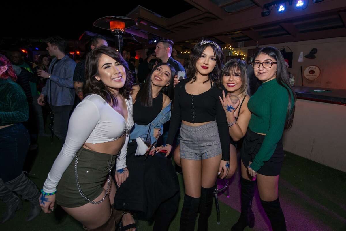 San Antonio's finest danced and lit up the scene at Burnhouse's Christmas Party Thursday night on the Northwest Side.
