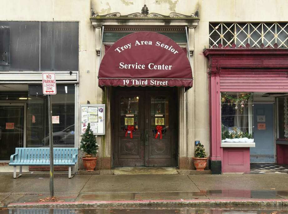 Exterior of Troy Area Senior Services Center on Friday, Dec. 21, 2018 in Troy, N.Y. (Lori Van Buren/Times Union) Photo: Lori Van Buren, Albany Times Union / 20045793A