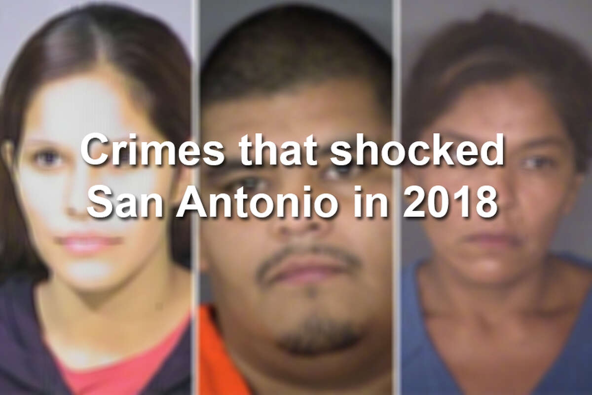 Murders, shootings and graffiti on a famous San Antonio landmark were among the crazy events from the year 2018. Click ahead to see the crimes that stood out the most.