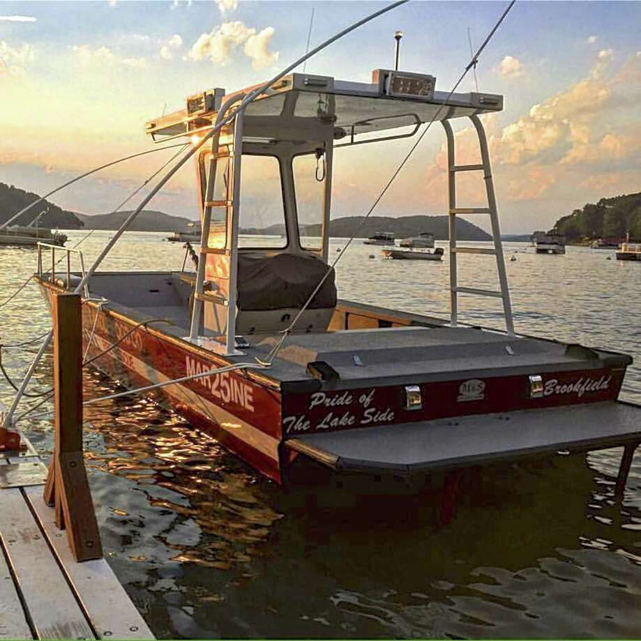 Candlewood Fire Company's 13-year-old Marine 25 rescue boat has been sold and will be replaced with a new vessel. Photo: Contributed Photo / The News-Times / The News-Times Contributed