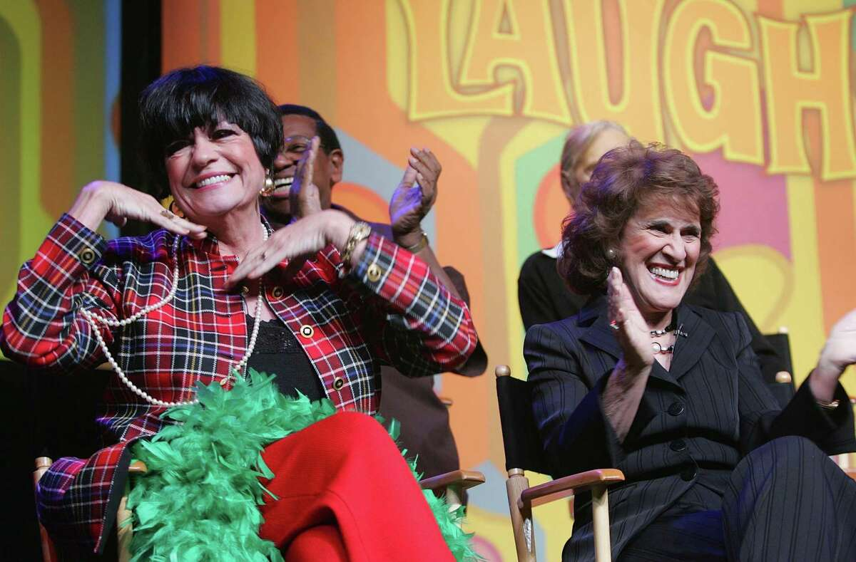 UNCASVILLE, CT - OCTOBER 21: Actresses Jo Anne Worley and Ruth Buzzi attend the