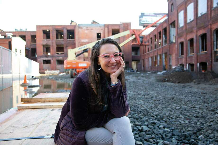 Sonya Huber, a professor at Fairfield University, sees beauty where others see decay and blight. Photo: Francesca Andre / For Hearst Connecticut Media / / Connecticut Post Freelance