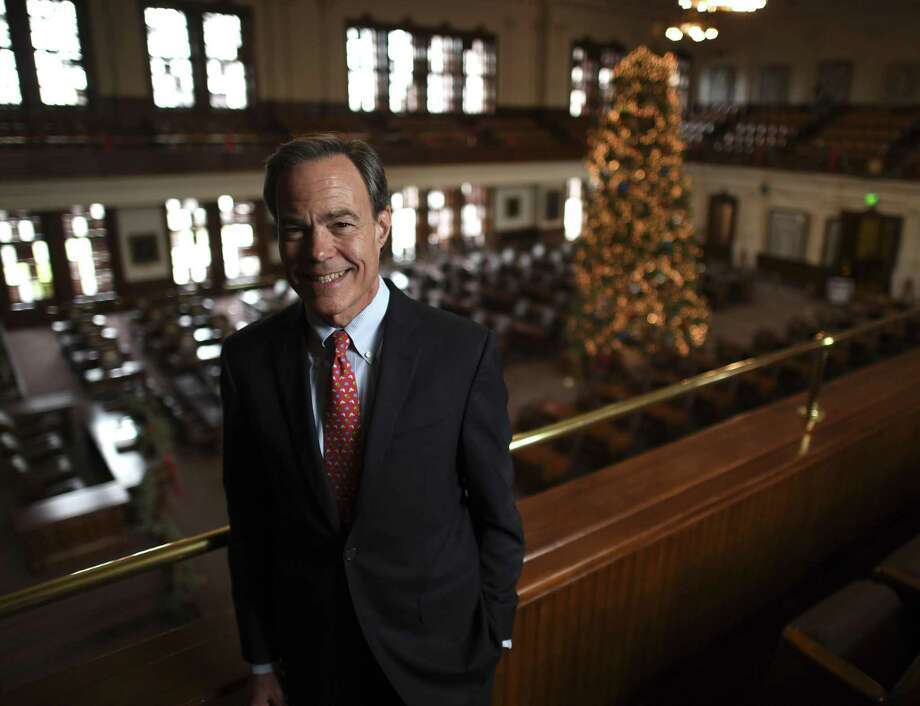 Speaker of the Texas House of Representatives Joe Straus has served for 10 years. He is going back to private life, but says that he will continue to be seen around Austin. Photo: Billy Calzada, Staff / Staff Photographer / Billy Calzada