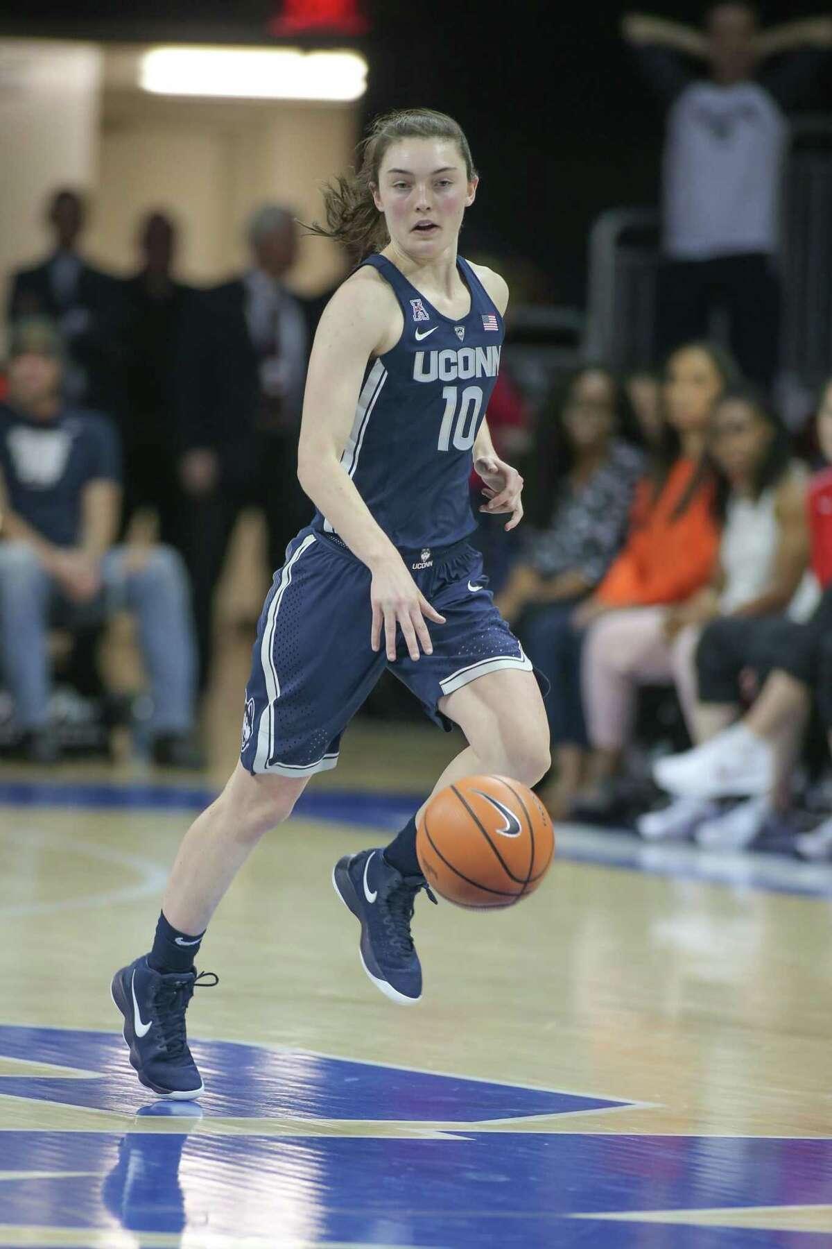 UConnn guard Molly Bent.