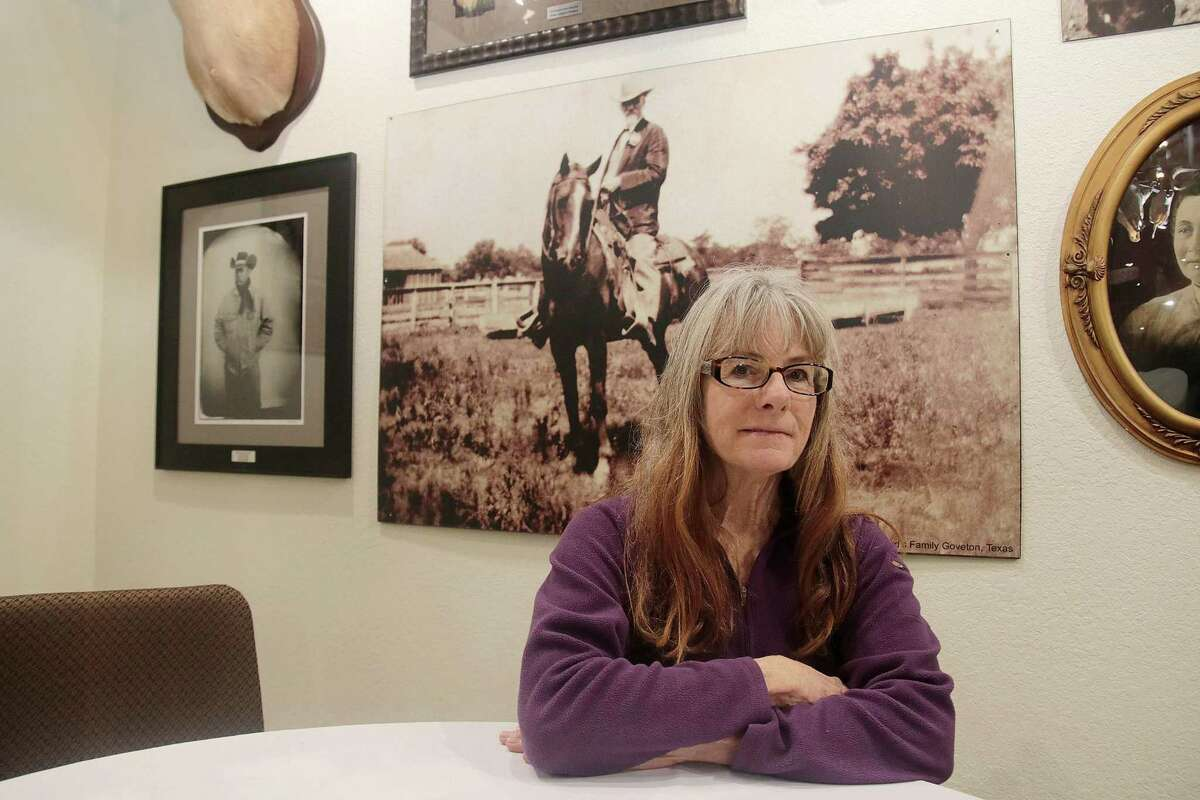 Anita Butler is the great-granddaughter of George Washington Butler, who established a ranch on Clear Creek in the 1800s, and granddaughter of Milby Butler, who became famous as a rancher who bred longhorn cattle. The family's legacy is detailed at the Butler Longhorn Museum in League City.