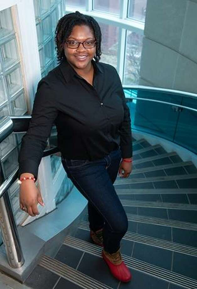 St. Louis native Yelana Moton earned a bachelor's in construction management, with a minor in business administration, from the SIUE School of Engineering on last weekend. Photo: For The Intelligencer