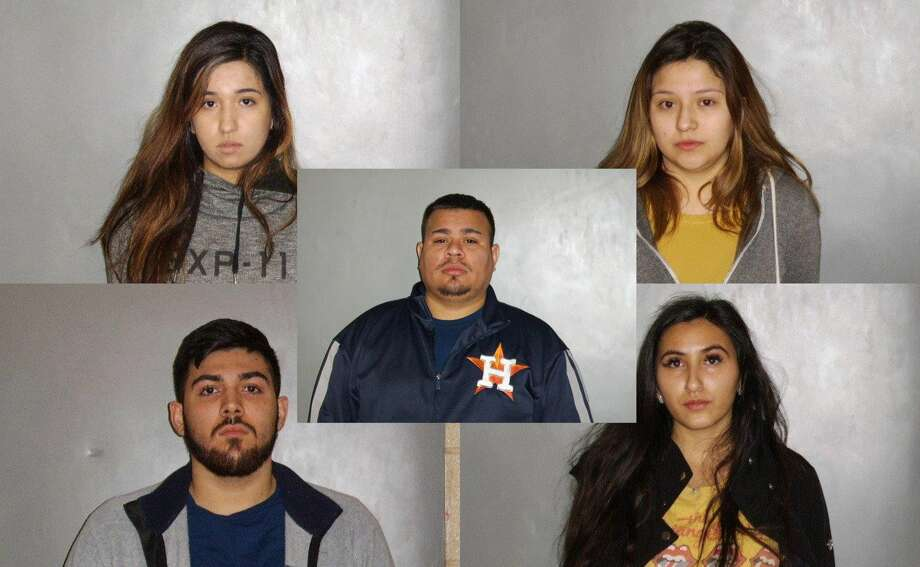 Mildred Garcia, 21, Anna Evelyn Lule, 19, Joaquin Guadalupe Gonzalez, 19, and Jazely Marie Barrera, 21, were charged with misdemeanors associated with serving Erick Hernandez, 19. Gustavo Tejada-Garcia, 28, the manager of the bar, was charged with misdemeanor possession of an unauthorized beverage charge, namely tequila. Photo: South Houston Police Department