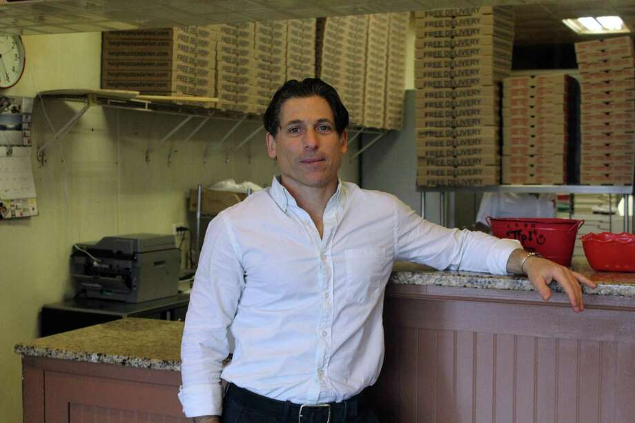 Aldo Criscuolo, owner of Heights Pizza. Taken Dec. 17. Photo: Lynandro Simmons /Hearst Connecticut Media