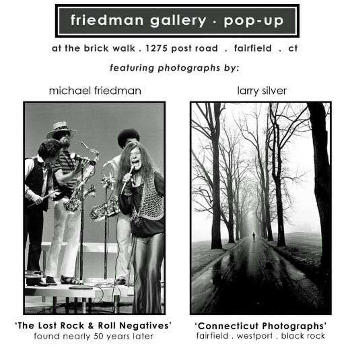 The Friedman Gallery is at 1275 Post Road.