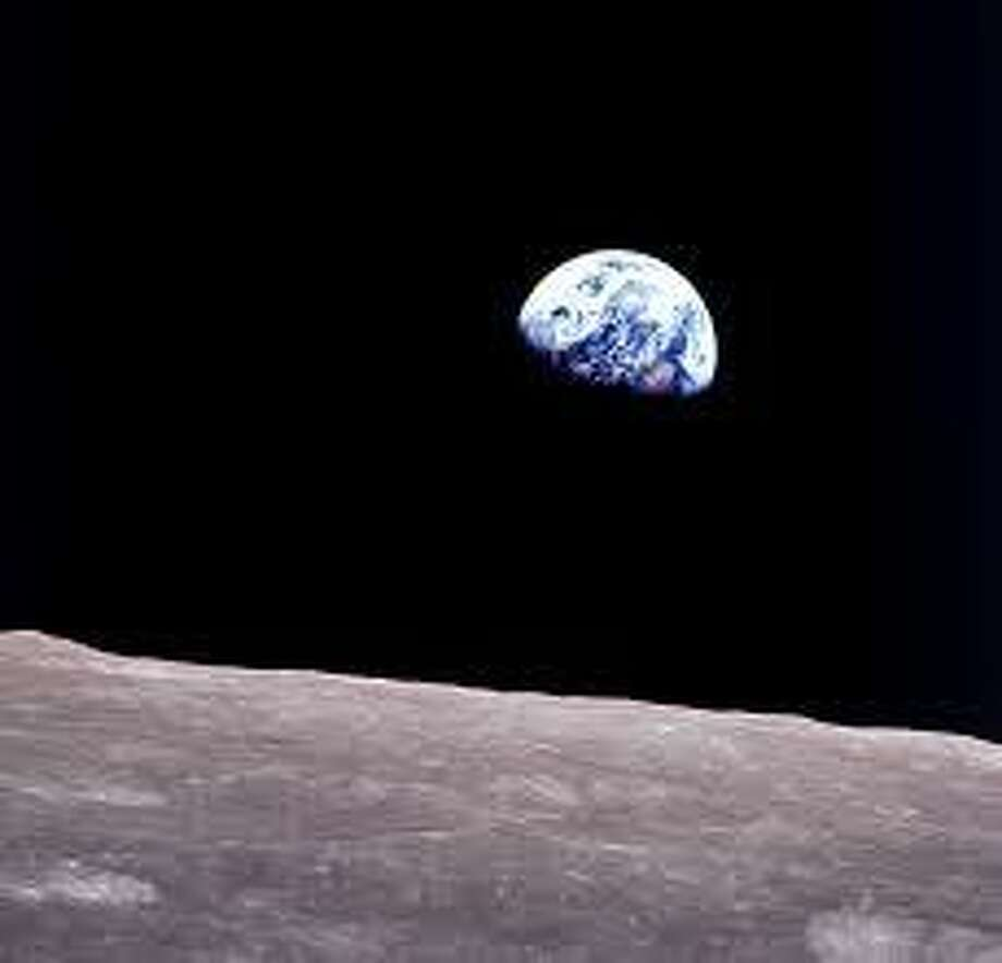Earthrise, as seen from Apollo 8 50 years ago Photo: /NASA