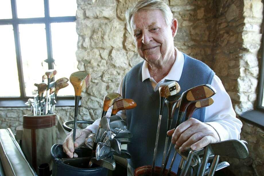 San Antonio Sports Hall of Fame inductee Joe Conrad  at Brackenridge Golf Course in 2012. Photo: Tom Reel / Staff File Photo / ©2012 San Antono Express-News