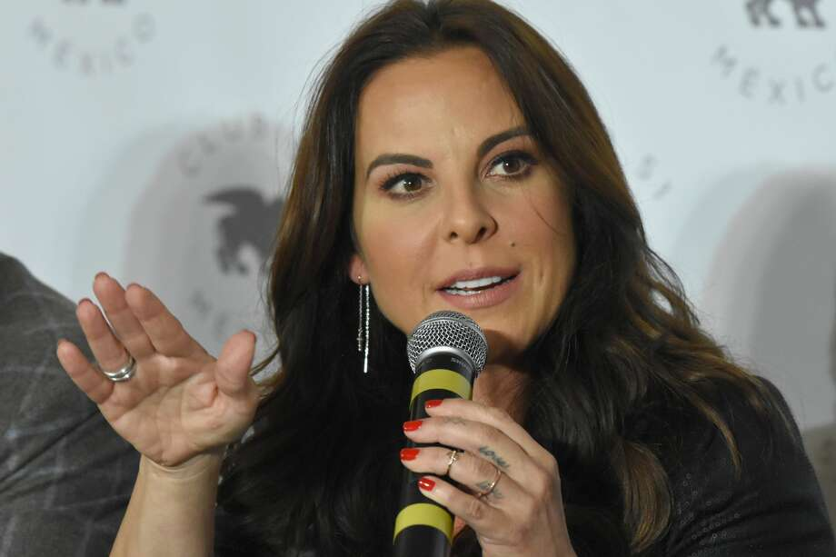 MEXICO CITY, MEXICO - DECEMBER 20: Kate del Castillo speaks during a press conference at Club 51 on December 20, 2018 in Mexico City, Mexico.  Actress Kate del Castillo was presented at a public event after 3 years of being banned from Mexico, accused by the Government of Enrique Pena Nieto of alleged links with the most powerful drug trafficker in the world, Enrique Guzman Loera aka 'El Chapo'. Photo by Carlos Tischler/Getty Images) Photo: Carlos Tischler/Getty Images