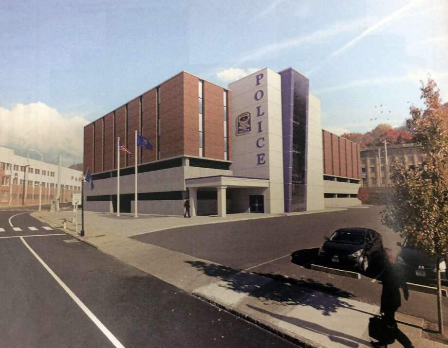Ansonia residents will soon get their first look at the new police department headquarters proposed for the former Farrel corporate headquarters at 65 Main St. Photo: Contributed Photo / Connecticut Post Contributed