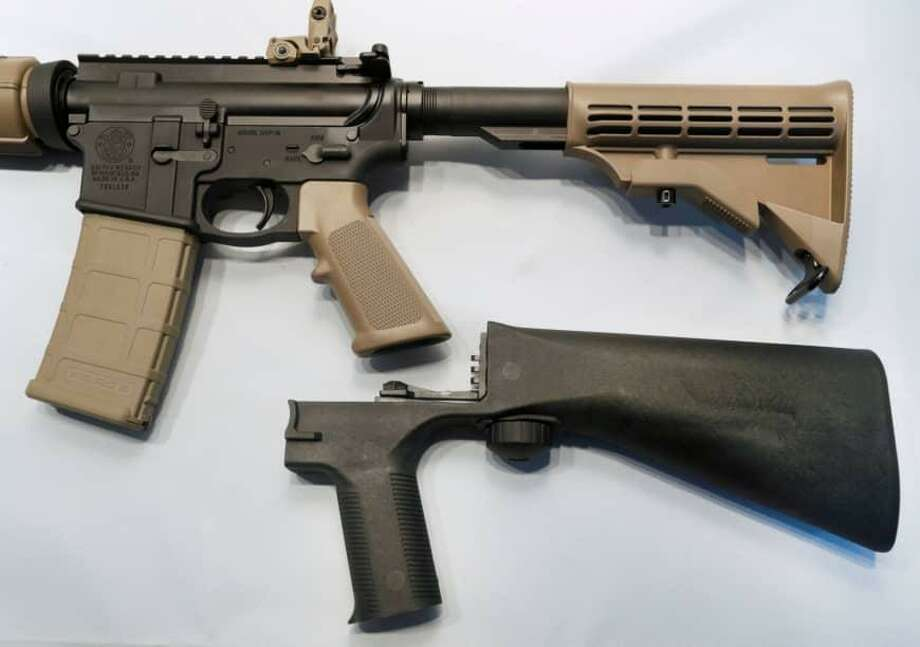 President Donald Trump has fulfilled his promise to ban bump stocks. Photo: File Photo