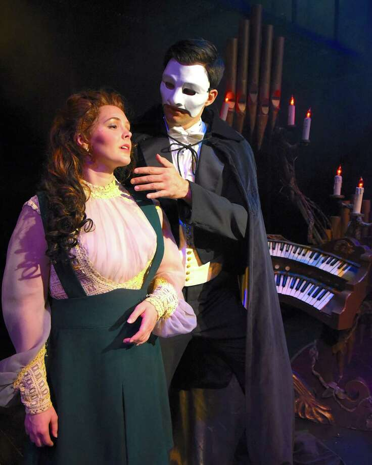 """Phantom of the Opera"" is onstage at Westchester Broadway Theatre in Elmsford, N.Y., through Jan. 27. Photo: Contributed Photo"