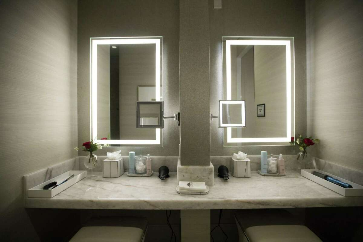 Dressing tables at The Spa at The Post Oak Hotel