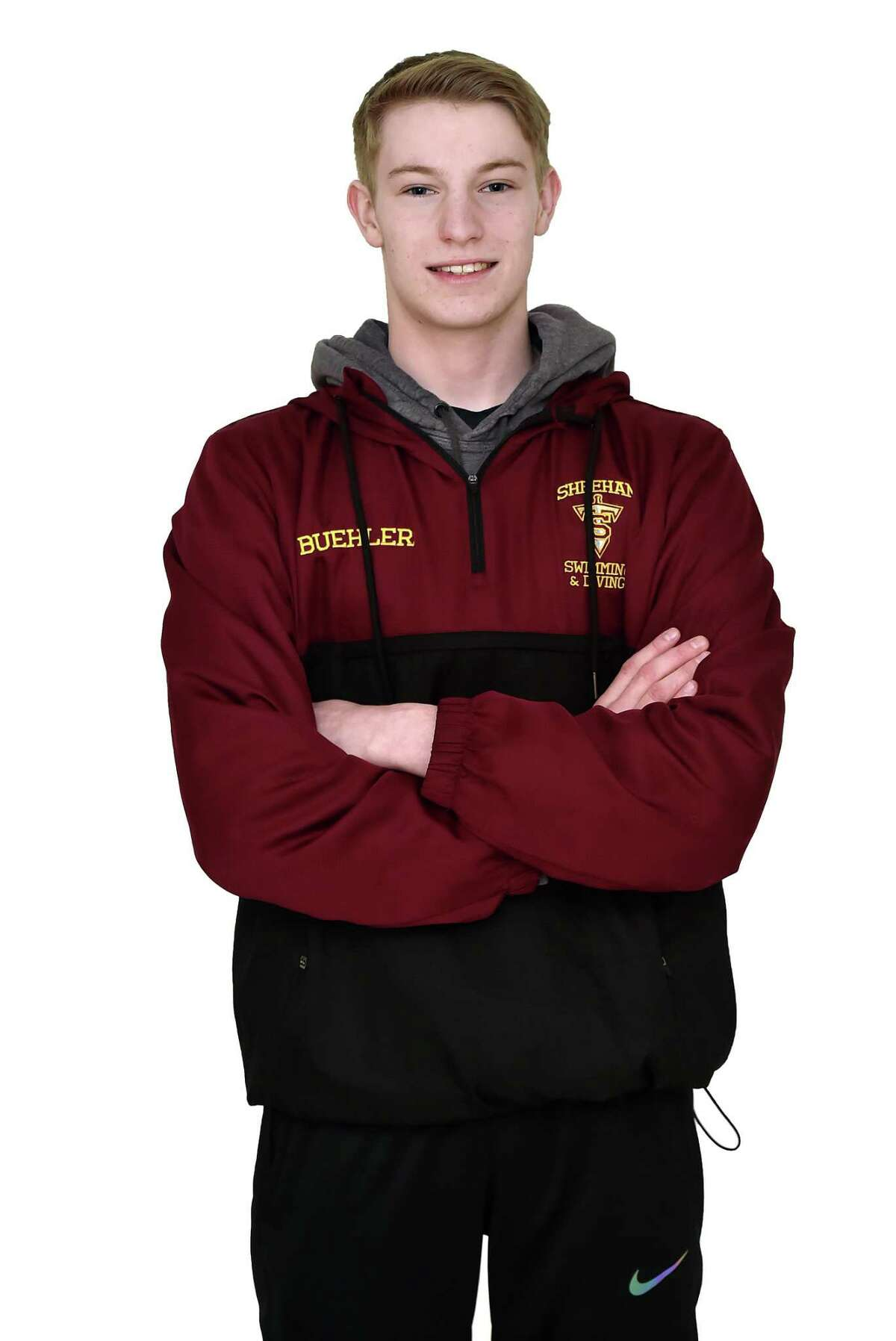 Andrew Buehler Sheehan High School All-Area Swimming April 5, 2018