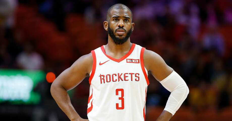 PHOTOS: Rockets game-by-game Chris Paul #3 of the Houston Rockets looks on against the Miami Heat at American Airlines Arena on December 20, 2018 in Miami, Florida. (Photo by Michael Reaves/Getty Images) Browse through the photos to see how the Rockets have fared in each game this season. Photo: Michael Reaves/Getty Images