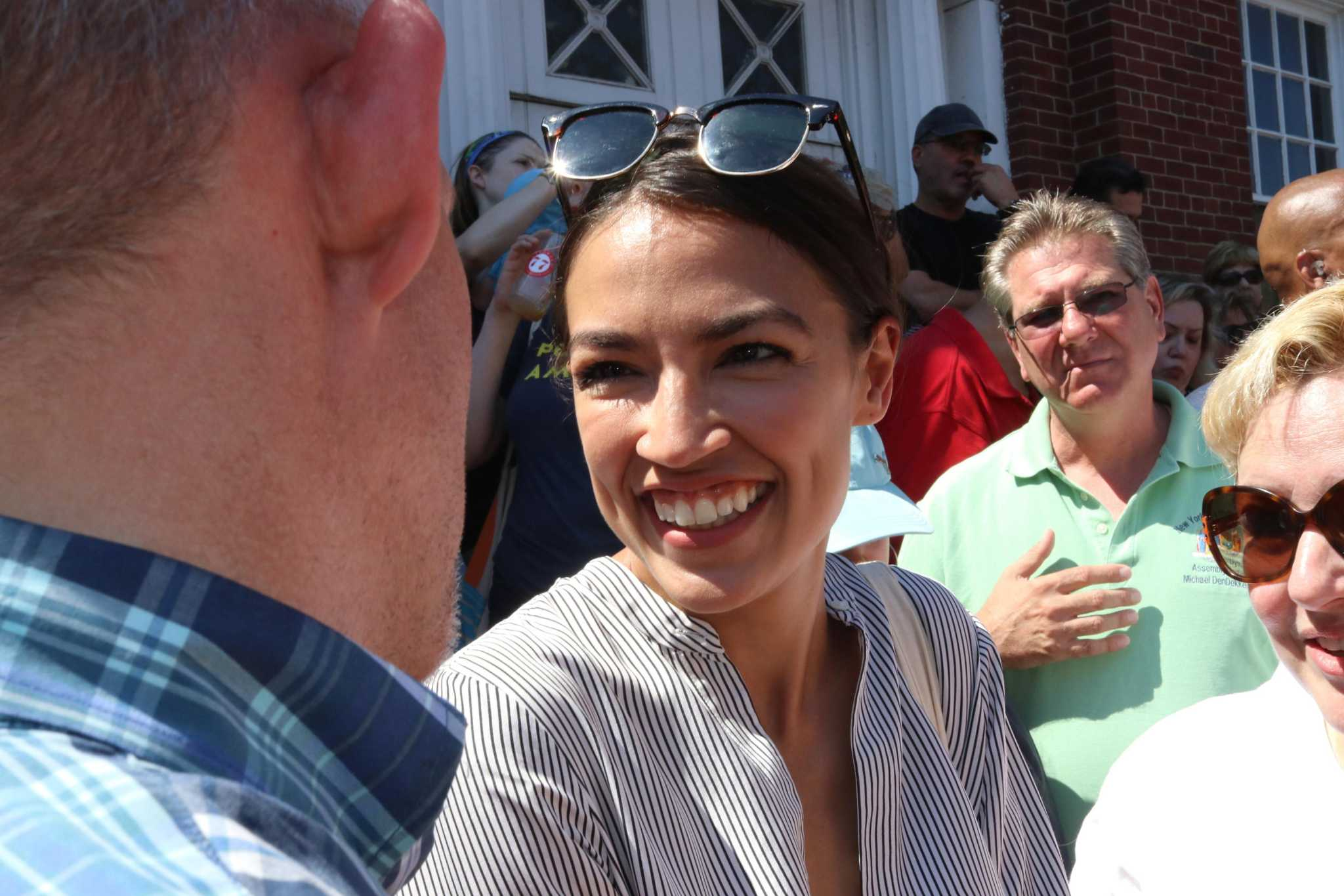"Cortez, Markey call for ""net-zero"" greenhouse gas emissions in Green New Deal framework"