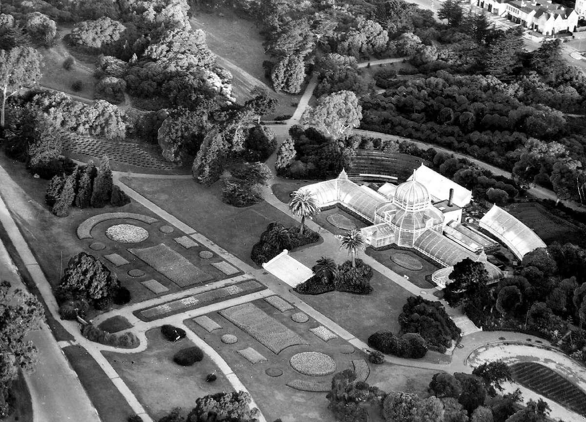 Golden Gate Park Conservatory April 10, 1947.