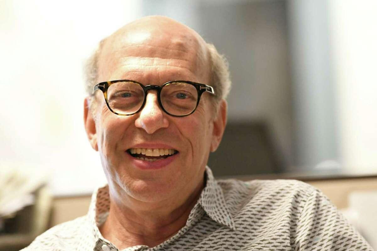 Times Union editor Rob Brill in 2018 in Colonie, N.Y. (Lori Van Buren/Times Union)