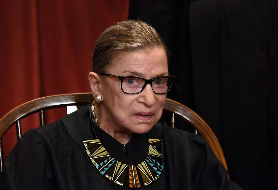 Supreme Court justice Ruth Bader Ginsburg in a file image. (Olivier Douliery/Abaca Press/TNS) Photo: Olivier Douliery, TNS