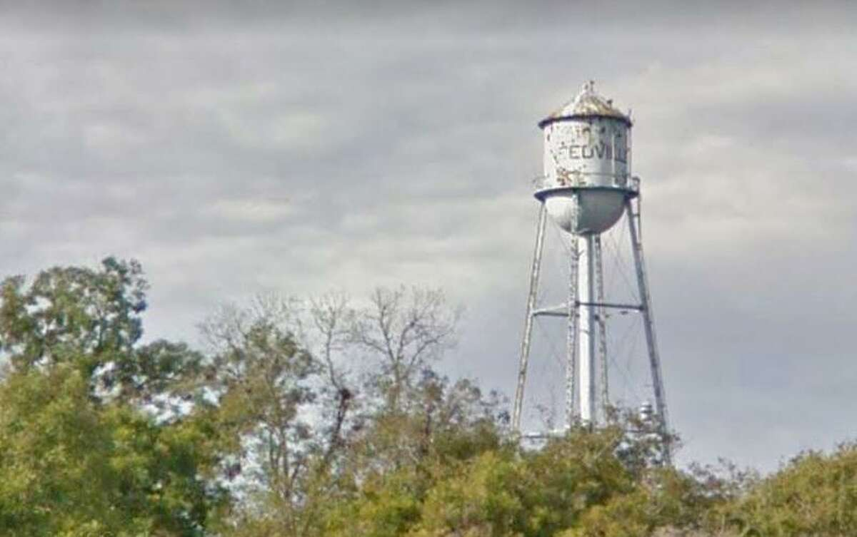 Demolition of a World-War II-era water tower in Needville was termporarily blocked after a Fort Bend County judge issued a restraining order in connection with a civil lawsuit recently filed against the city.
