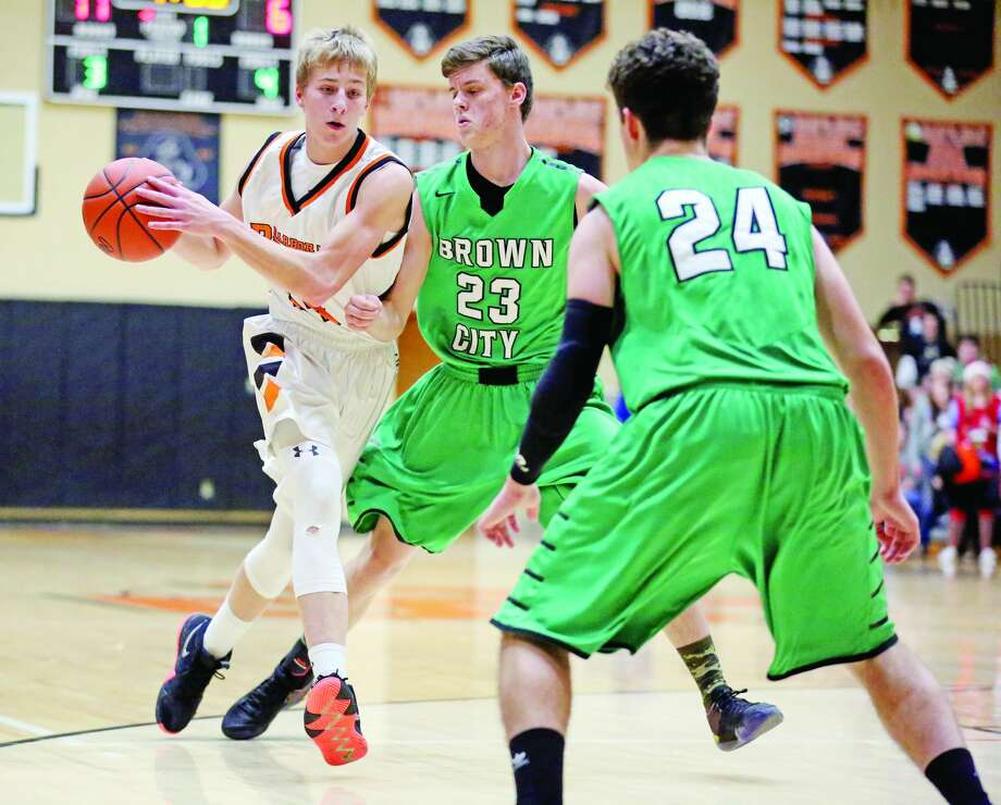 Brown City 60, Harbor Beach 54 Photo: Mike Gallagher/Huron Daily Tribune