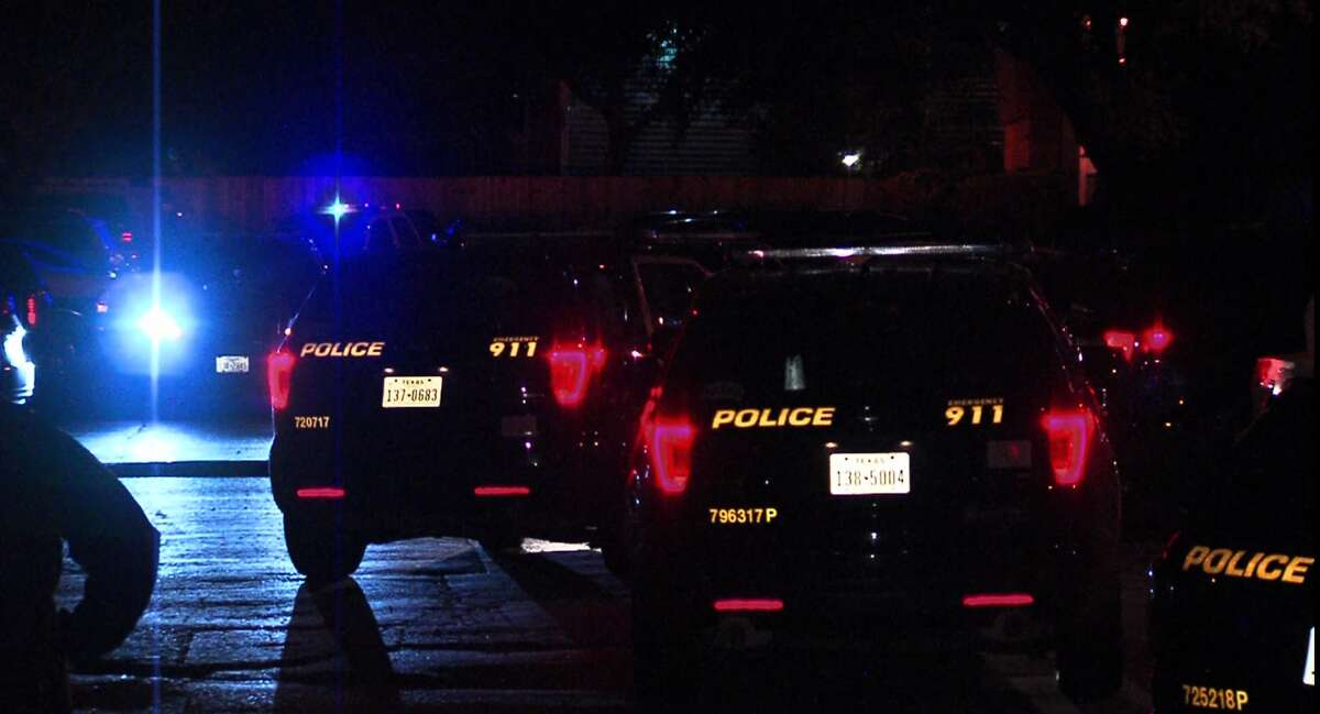 San Antonio police say a woman is in critical condition after being found in her bed with a gunshot wound to her head Saturday morning, Dec. 22, 2018.