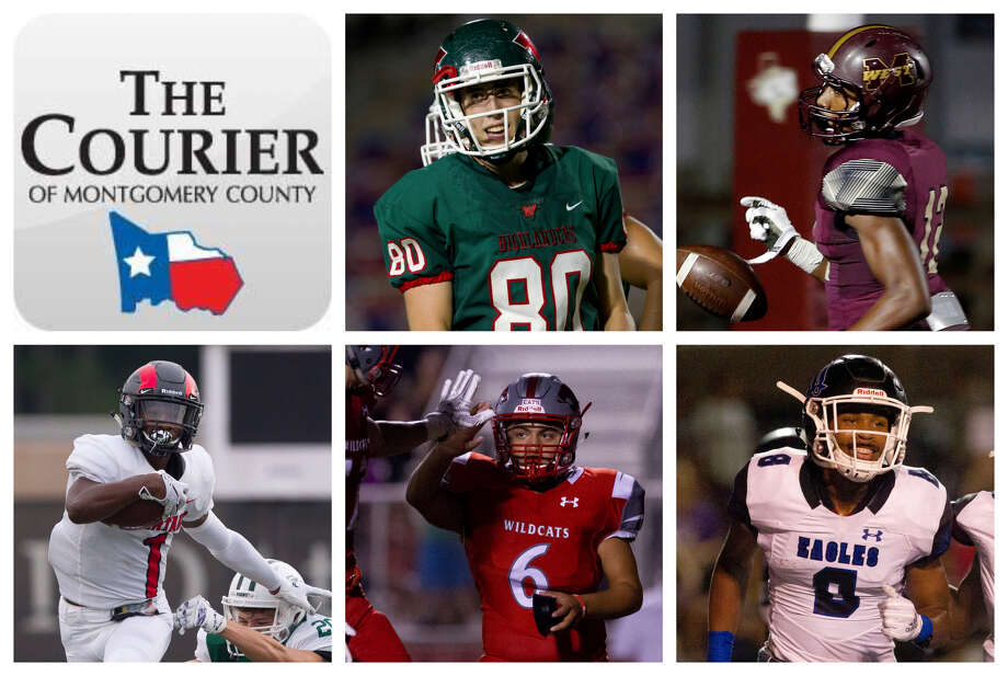 Fabrizio Pinton (The Woodlands), Seth Hayes (Magnolia West), SeVonne Rhea (Porter), Damien Casas (Splendora) and Gerome Henry (New Caney) are The Courier's nominees for Special Teams MVP. Photo: Staff Photos