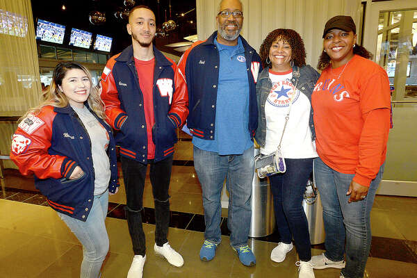 West Brook fans were at Saturday's state final Class 6A Div. II championship game against Longview at AT&T Stadium in Arlington. Photo taken Saturday, December 22, 2018 Kim Brent/The Enterprise