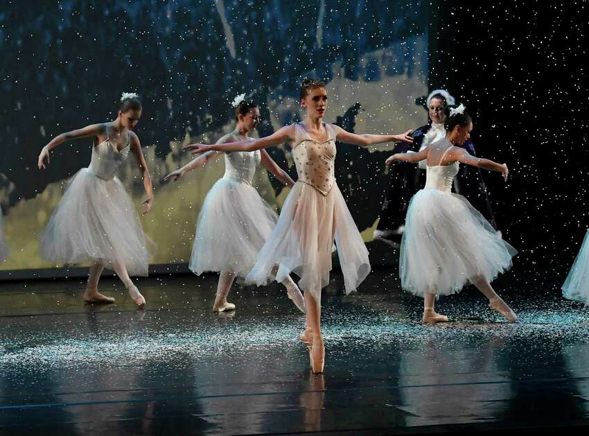 Cast members of the Saratoga City Ballet perform their 25th anniversary performance of The Nutcracker Ballet at The Hart Theater Saturday, Dec. 22, 2018, in Albany, N.Y. (Hans Pennink / Special to the Times Union)