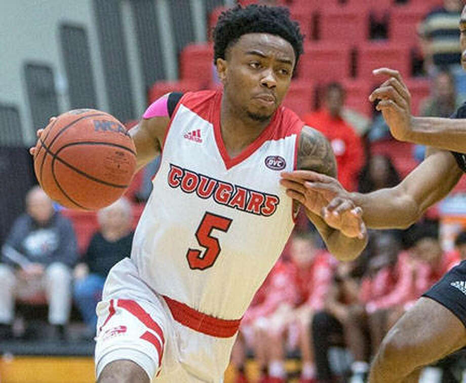 SIUE's Tyresse Williford matched his career-high with 25 points to lead the Cougars to a victory over Northern Colorado on Sunday in Las Vegas. Photo: SIUE Athletics