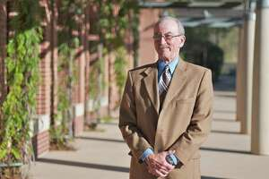 The Woodlands Villager publisher Ray Biggerstaff